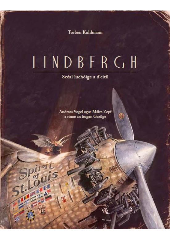 Lindbergh-Scéal luchóige a d'eitil